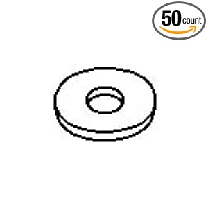 #10 Nylon Flat Washer (50 count): Amazon.com: Industrial