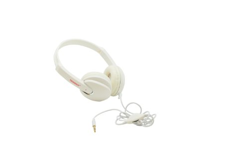 White Studio Stereo Headphones Hd Sound Quality Ear Cup Wired - Best Value Around
