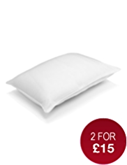 Supremely Washable Soft Touch Medium Support Pillow