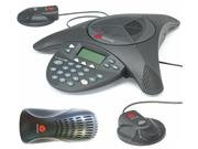 Polycom Soundstation2 Expandable Full Duplex Conference Phone With 2 Extension Microphones