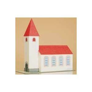 Auhagen 10601 Kirche, Bastelbogen aus Karton