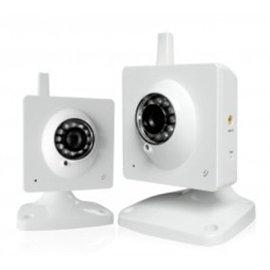 Zmodo Surveillance Pki-W2001 Wireless 1/4Inch Cmos Ir Indoor Night Vision Ip Network Camera Retail