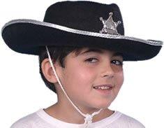 Cowboy Black Felt Childs Hat