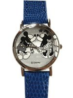 Disney Mickey & Minnie Watch - Mickey Kisses Watch