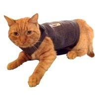 Thundershirt Grey Chest, Cat, 9-13 lbs, Medium