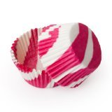 Dress My Cupcake Standard Pink Zebra Cupcake Liners BULK - 500 Liners - Cupcake Tower Cupcake Liners Cupcake Toppers