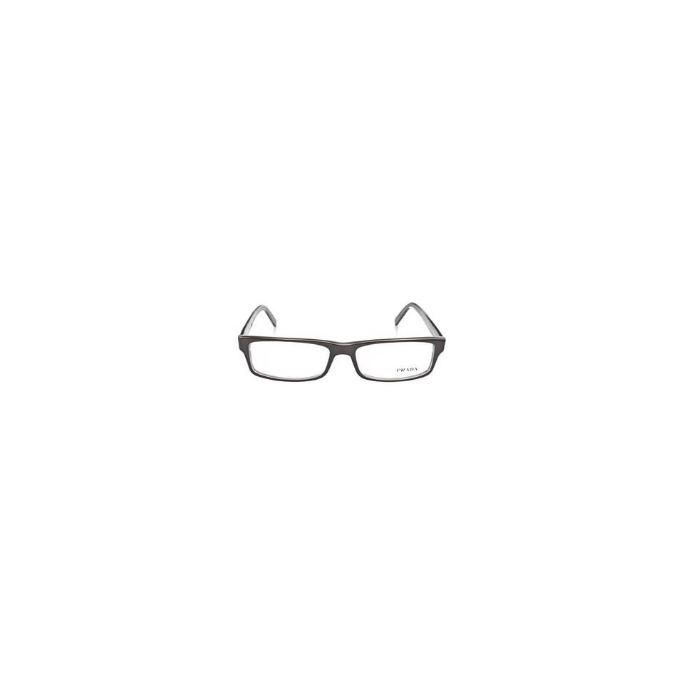 9ad7c1f9fa4 Prada OPR 07E 6AW101 Black Crystal Eyeglasses on PopScreen
