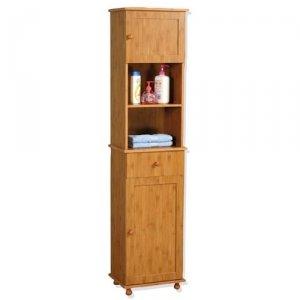rangement salle de bain bambou. Black Bedroom Furniture Sets. Home Design Ideas