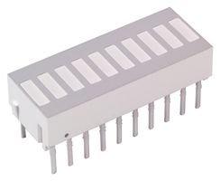 Avago Technologies Hdsp-4832 Bar Graph, 10Led, Red/Yel/Green, 12.5Mcd (5 Pieces)