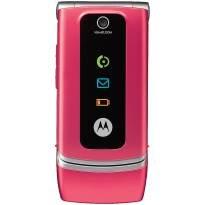 Motorola W375 Mobile Phone ** Pink