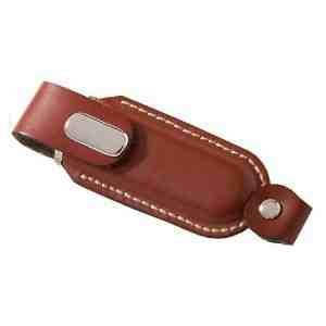 8GB Leather USB 2.0 Flash Disk Drive Brown from EASYWORLD