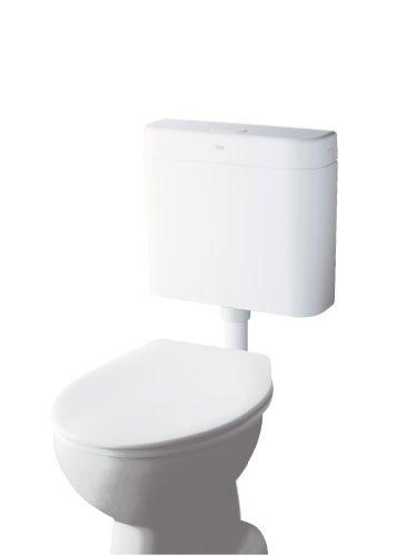 Start Spülkasten für WC , 6 - 9 Liter einstellbar , Start-Stopp Wassersparfunktion , Schwitzwasservollisoliert ,weiß 37406SH0