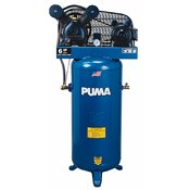 Puma 3-HP 60-Gallon (Belt Drive) Single-Stage Air Compressor - PK6060V