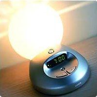 Lumie Bodyclock Sunray Sunrise Natural Alarm Clock to reduce SAD symptoms