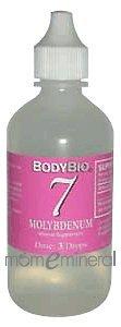 7 Molybdenum Trace Minerals 4 oz by BodyBio/E-Lyte