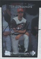 Chad Hermanson Carolina Mudcats - Pirates Affiliate 1997 Upper Deck SP Top Prospects... by Hall of Fame Memorabilia