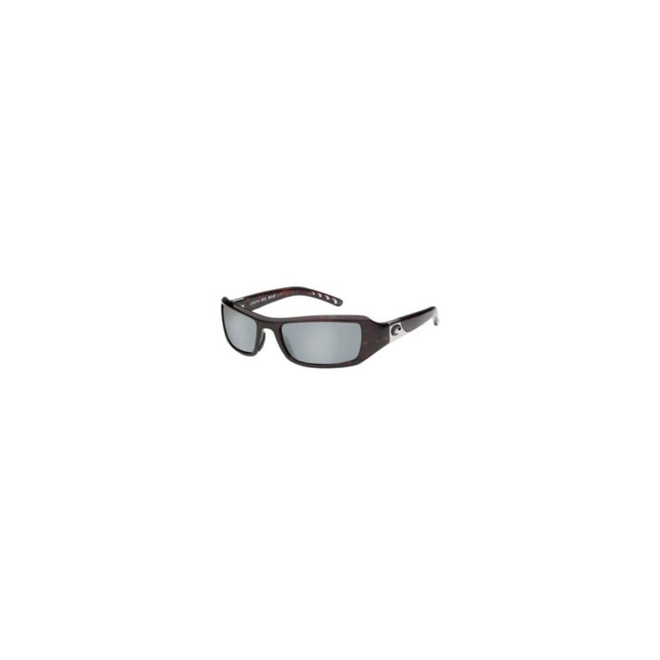 fb17731cf74bb Costa Del Mar Sunglasses Santa Rosa Glass   Frame Shiny Tortoise Lens  Polarized Silver Mirror Wave