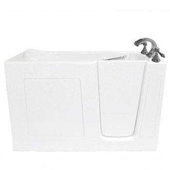 """Ariel Bath Ezwt3060 Soaker R Walk In Bathtub 60"""" X 30"""" X 37"""" Ada Compliant Right Side Opening"""