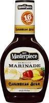 Kc Masterpiece 30 Minute Marinade -Caribbean Jerk Marinade Sauce 16 Oz. Bottle (Pack Of 3)
