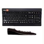 104KEY PS2 Keyboard Black Wmembrane