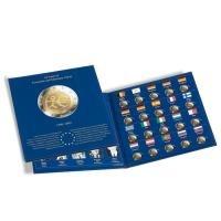 """Münzalbum PRESSO 2-Euro Special-Collection für """"10 Jahre Wirtschafts-und Währungsunion"""": für alle 20 europäischen 2 Euro-Gedenkmünzen """"10 Jahre WWU"""""""