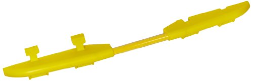 Cross-Guard CPRL-5GD-Y Polyurethane ADA Compliant Rail for Guard Dog 5 Channel Heavy Duty Cable Protectors, Yellow, 2