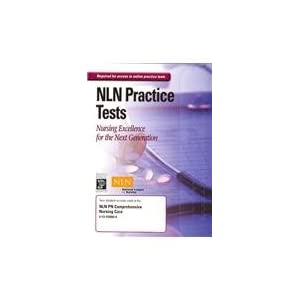 NLN PN Comprehensive Nursing Care Online Test Access Code Card NLN