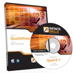 QuarkXPress 8 Training Video - Tutorial CD