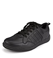 Scuff Resistant Leather Trainers