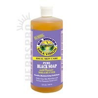 Dr. Woods: Black Soap w/ Organic Shea Butter, 32 oz (3 pack)