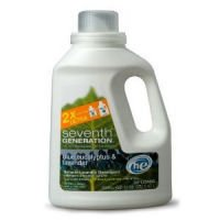 Seventh Generation Natural 2X Concentrated Laundry Detergent, 33 Loads, Blue Eucalyptus & Lavender 50oz.