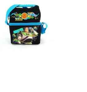 Lunch Bag - Disney - Toy Story - Buzz Lightyear Came on Double Compartment Tote Bag Case