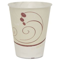 SOLO Cup Company Symphony Design Trophy Foam Hot/Cold Drink Cups, 10oz