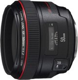 Canon EF 50mm f/1.2L USM Medium Telephoto Lens (USA)
