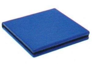 LEGAMi イタリア ポケットミラー ブルー