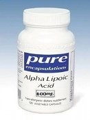 Pure Encapsulations - Alpha Lipoic Acid 600mg 60