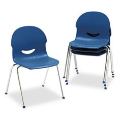 IQ Series Stack Chair, 17-1/2