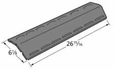 Music City Metals 91091 Porcelain Steel Heat Plate Replacement For Select Gas Grill Models By Charbroil, Kenmore And Others
