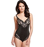 Per Una Light Control Jasmine Overlaid Lace Padded B-DD Body