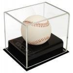 BCW Deluxe Acrylic Baseball Holder Display - Sports Memoriablia Display Case - Sportscards Collecting Supplies