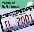 Heartland Institute License Plate Holder