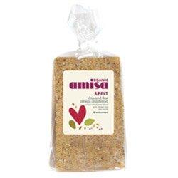 Amisa Organic Spelt Chia & Flax Omega Crispbread 200g x1
