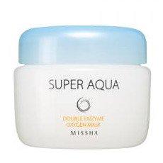 Super Aqua Detox Double Enzymy Oxygen Mask スーパーアクア ダブル エンザイム 酵...
