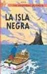Herge La Isla Negra/ the Black Island (Tintin)