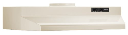 Broan 423608 Under Cabinet Hood, 190 Cfm, 36-Inch, Almond