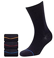 3 Pairs of Heatgen™ Striped Thermal Socks