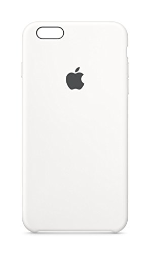 Click to buy Apple MKXK2ZM/A Silicone Case for iPhone 6 Plus & 6s Plus - Retail Packaging - White - From only $39