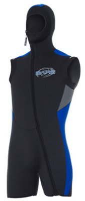 Bare 5mm Velocity Scuba Diving Mens Vest (Black, Large)