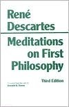 Meditations on First Philosophy (text only) 3rd (Third) edition by R. Descartes,D. A. Cress