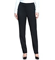 M&S Collection Slim Leg Welt Pocket Trousers